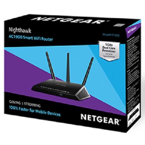 NETGEAR AC1900 Nighthawk Smart Wifi Router (R7000) - Router Consumer Wireless